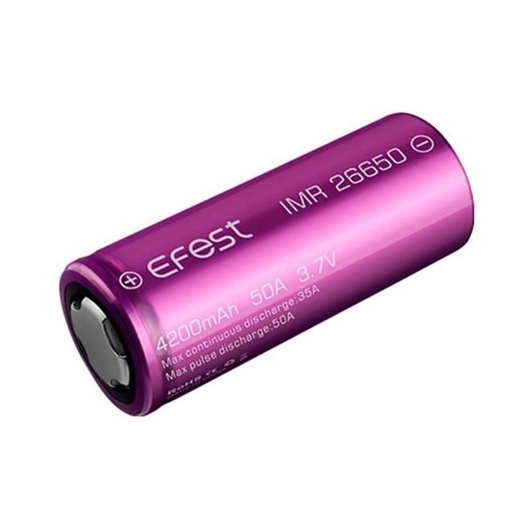 Efest Li-ion 26650 4200mAh (Accus)