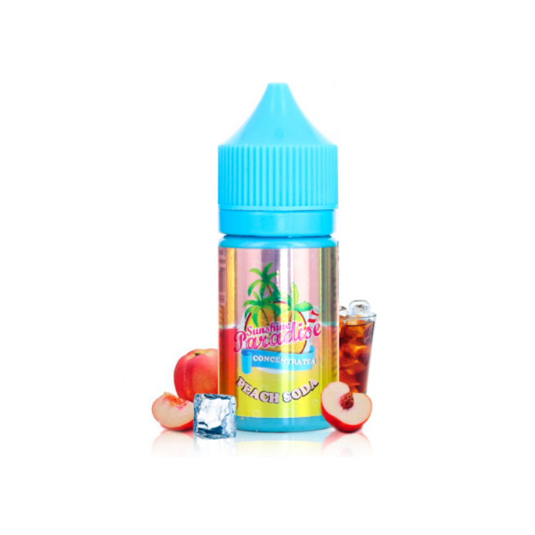 Concentré Peach Soda - 30ml - (Sunshine Paradise)