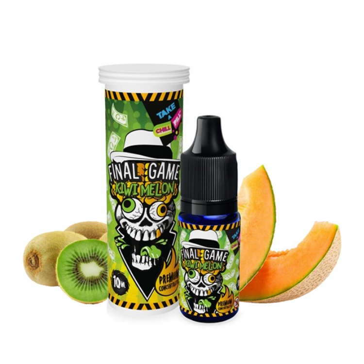 Concentré Final Game Kiwi Melon - 10ml - (Chill Pill)