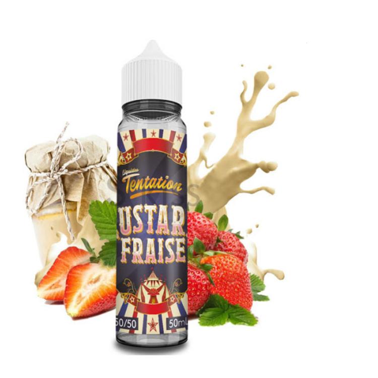 Custard Fraise - Liquideo Tentation - 50ml