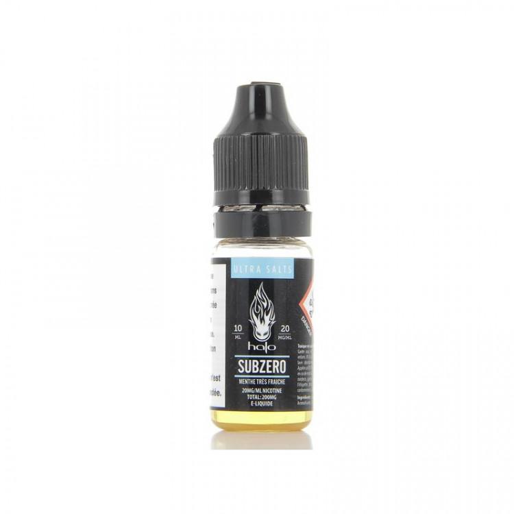Subzero (aux sels de nicotine) - Halo - 10ml