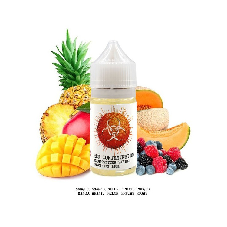 Concentré Red Contamination - 30ml - (Resurrection Vaping)
